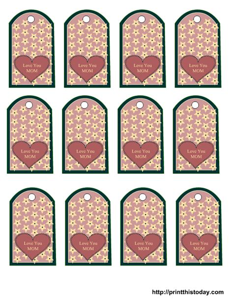s day tags printable s day tags and ideas