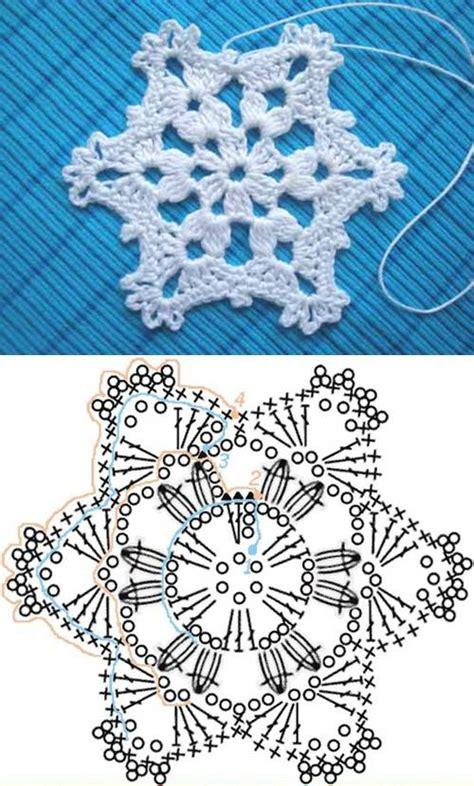 snowflake pattern to crochet wonderful diy crochet snowflakes with pattern