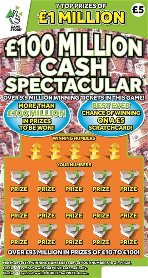 best scratch cards 4 million scratchcard milions uk