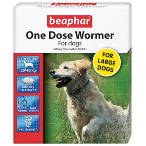 best wormer for puppies beaphar one dose wormer for dogs from 163 3 86