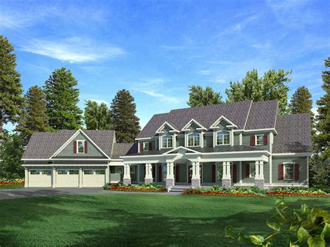 lemonwood arts and crafts home plan 076d 0204 house
