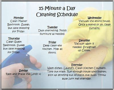 how to keep a clean house schedule pinterest the world s catalog of ideas