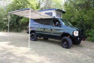 Sprinter Awning 4x4 Ford E350 Diesel Off Road Camper Sir Gear