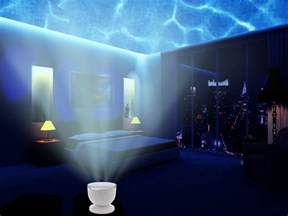 Plug In Wall Lamps For Bedroom Ocean Waves Night Light Projector
