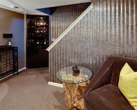 liking the half walls basement garage remodel ideas use the metal siding on the bottom half of the garage