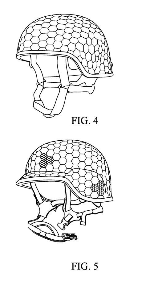 helmet design patents patent us20110203024 rifle rated ballistic helmet