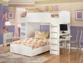 Kid Furniture Bedroom Sets The Furniture White Bedroom Set With Loft Bed In
