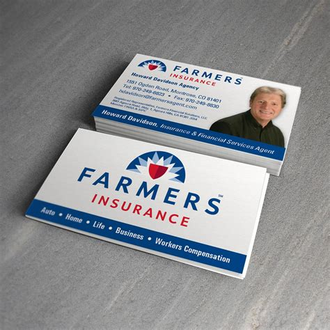 Farmers Insurance Letterhead graphic design treefeather creative