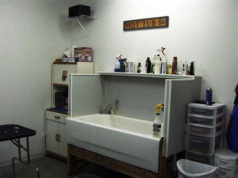Basement Bathroom Designs grooming dog bathing tubs rmrwoods house make your own