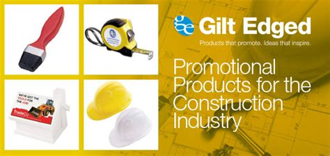 Promotional Giveaways Uk - blog promotional products for the construction industry