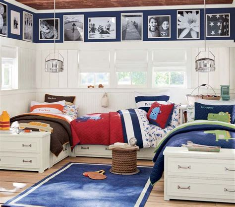 bed for boys boys room for three brothers layout beds