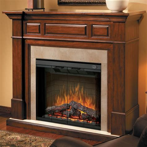 60 In Electric Fireplace by Dimplex Newport 60 Inch Multi Electric Fireplace With