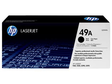Toner Q5949a hp 49a black original laserjet toner cartridge q5949a