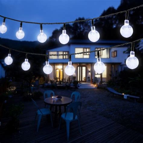 white solar lights 27 outdoor solar lighting ideas to inspire