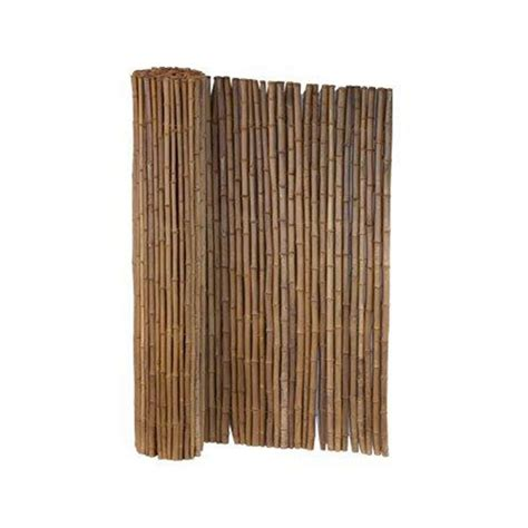 Bamboo Fence Roll Home Depot by Lewis Hyman 6 Ft X 8 Ft Caramel Brown Bamboo