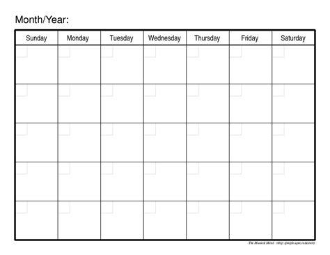 printable calendar fotolip