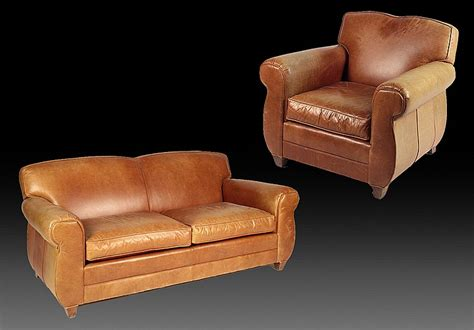 Labeled Mitchell Gold Sofa Matching Club Chair Mitchell Gold Leather Sofa