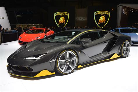 Lamborghini Corporate Lamborghini Centenario Breaks Cover At Geneva Motor Show