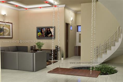 New Model Living Room In Kerala Evens Construction Pvt Ltd Awesome Living Room For Kerala