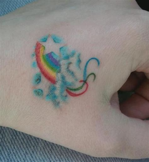 rainbow baby tattoos rainbow by rankleatedot on deviantart