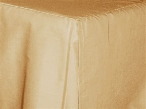 tan bed skirt tan beige tailored bedskirt for cribs and daybeds and
