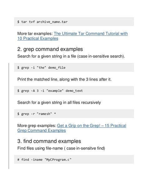 search file name pattern unix download grep search tar file free software