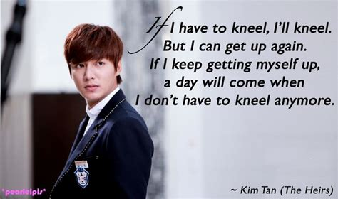 film lee min ho the heirs the heirs inheritors quotes lee min ho as kim tan