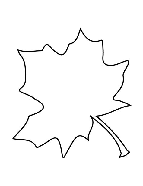 leaf pattern stencil fall leaf stencil h m coloring pages