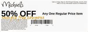 michaels coupons june 2014