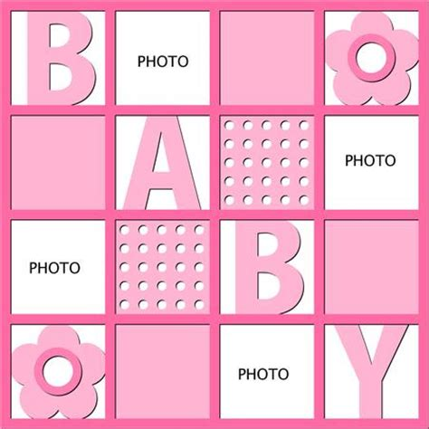 photo templates for mosaic design baby png template cup86716 671