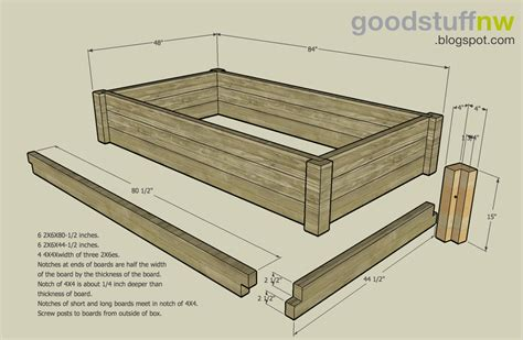 blueprints wood bed design plans