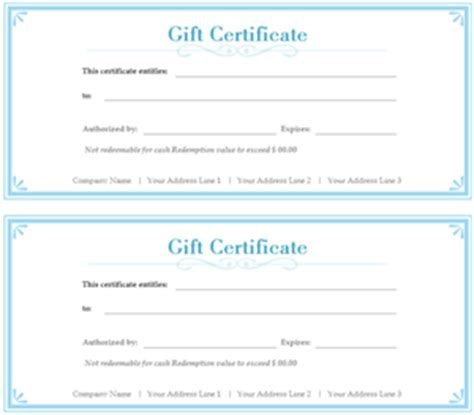 create your own gift certificate template free best photos of make your own gift certificates make your