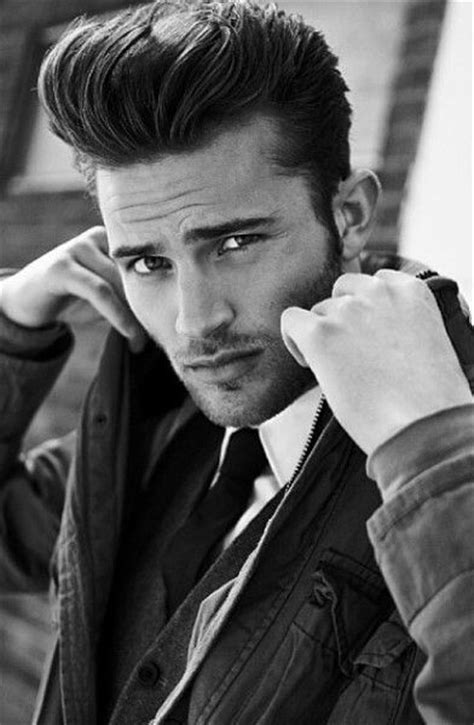 are pompadours hot the pompadour haircut for men 50 masculine hairstyles