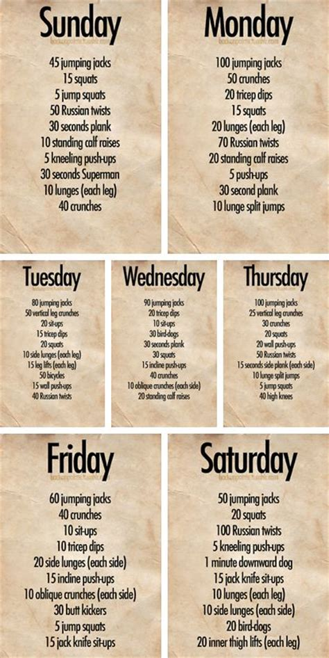 work out plans for home 132 best exercise images on pinterest workout routines