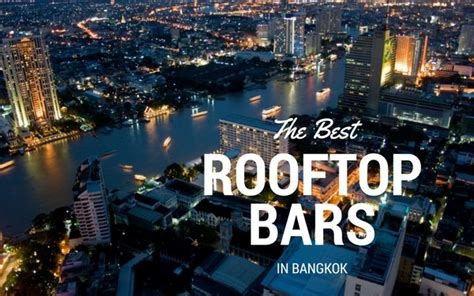 Top Bars In by Bangkok S 9 Best Rooftop Bars Stunning Views Guaranteed Wos