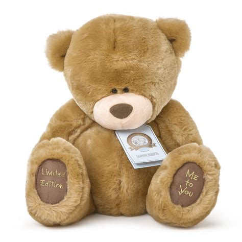large teddy bears me to you selection choice of large plush tatty