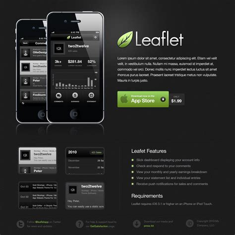 tutorial website mobile design a sleek dark mobile app website