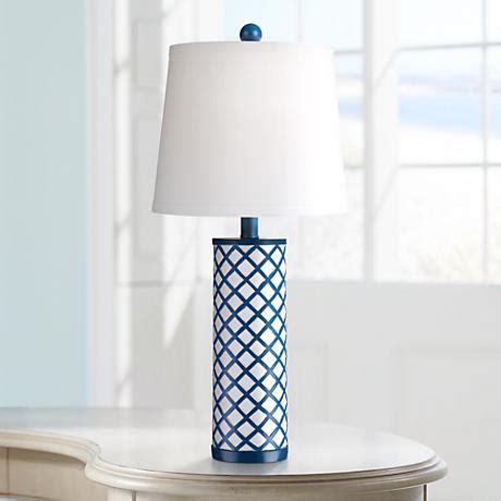 Gisel Blus by Gisele Blue Lattice Column Table L 2y045 Www