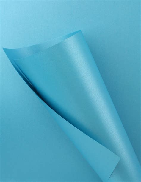 blue craft paper pearlescent paper blue 120gsm wl coller ltd
