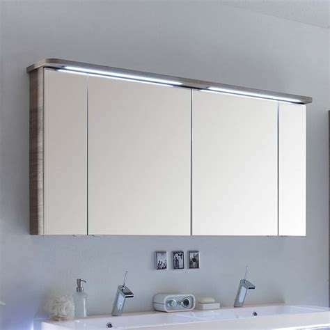 bathroom mirror cabinets with lights and shaver socket