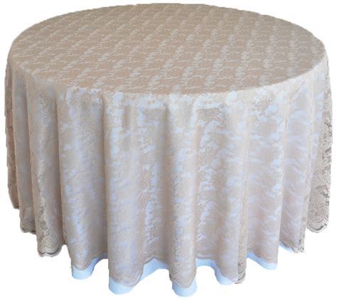 chagne lace table overlay toppers linens