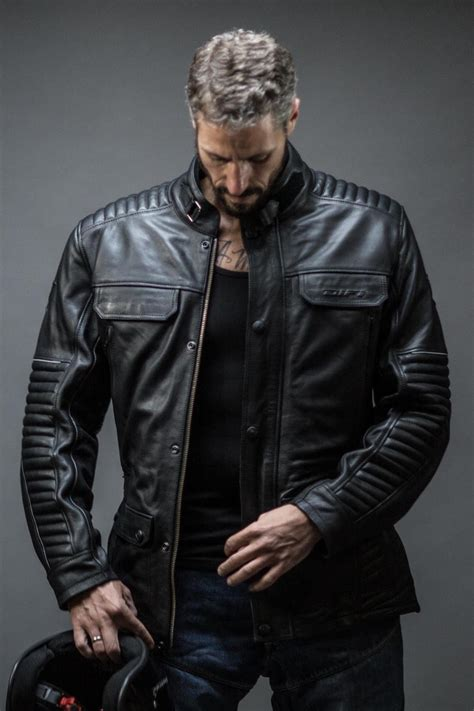 Motorradbekleidung übergrößen Herren by Difi Scrambler Leder Motorradjacke Im Motoport Onlineshop