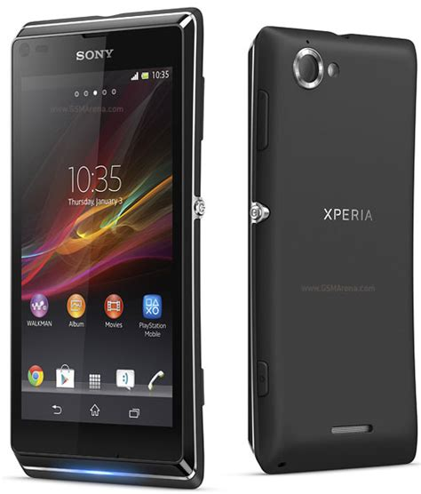Hp Sony Gsmarena sony xperia l pictures official photos