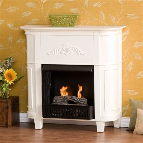 indoor apartment fireplace gel fuel white sei fa9115g ebay