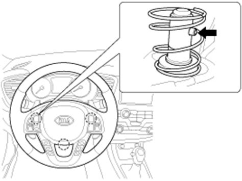 service manual 2009 kia sorento driver airbag removal instructions service manual 2009 kia kia optima removal driver airbag dab module and clock spring repair procedures airbag