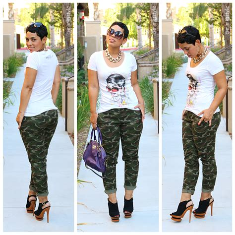 An Exhibit Of Camo Chic by Casual Ootd Camo Look Casual Ootd Camo And Ootd