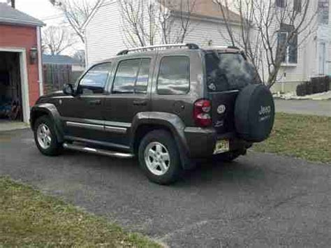 2006 Jeep Liberty Crd Sell Used 2006 Jeep Liberty Crd Limited 4x4 Turbo Diesel