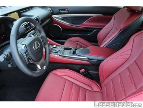 lexus rc f red interior 2015 lexus rc 350 f sport
