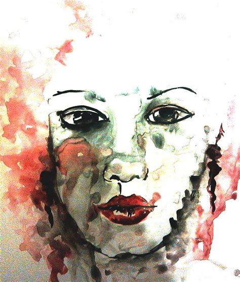 art dinca the beautiful face painting by farfallina art gabriela dinca