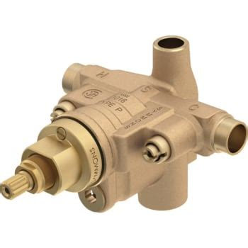 symmons temptrol tub shower mixing valve hd supply